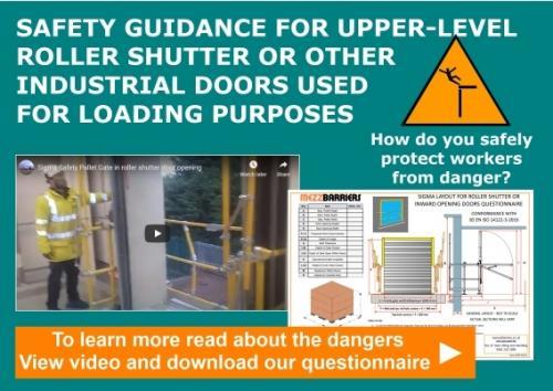 SAFETY GUIDANCE FOR UPPER-LEVEL LOADING DOORS