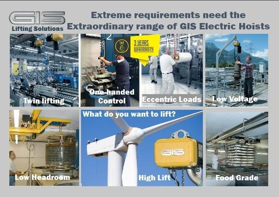 Need an Electric Hoist for a Special Application?