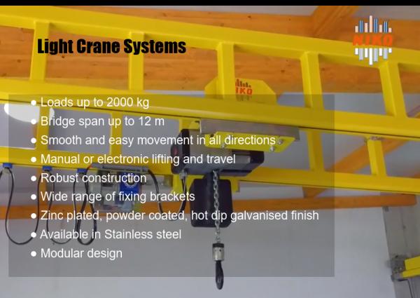 Light Crane Systems