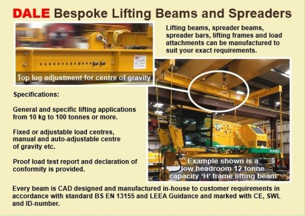 Custom Designed Lifting Beams and Spreaders to Your Specific Requirements