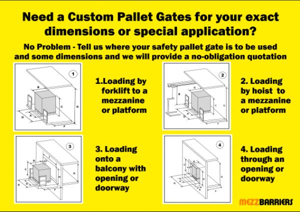 How Do I Specify a Custom-Built Pallet Gate?