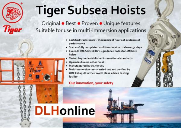 TIGER HOISTING > SUBSEA & OFFSHORE