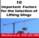 Lifting sling guide