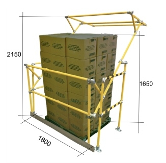 Atlas Pallet Gate Yellow