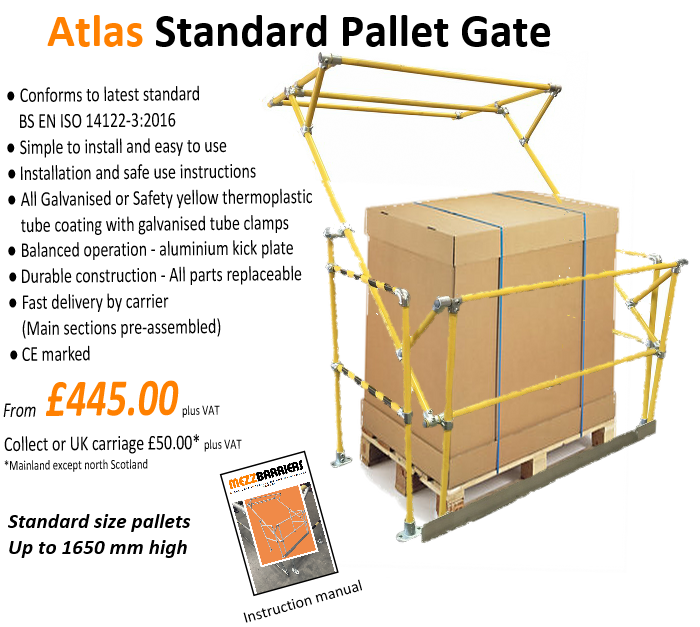 Atlas pallet gate