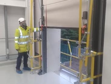 Sigma gate in roller shutter