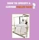 Custom Pallet Gate Guide