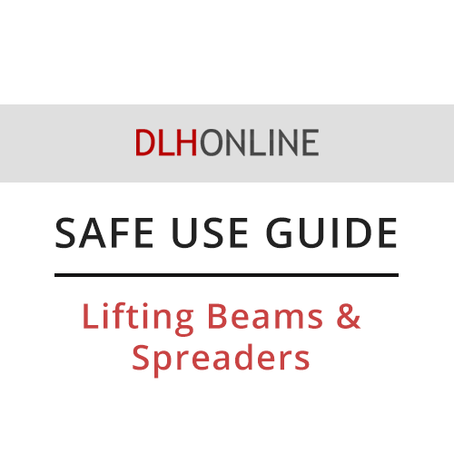 Safe use lifting beams and spreaders