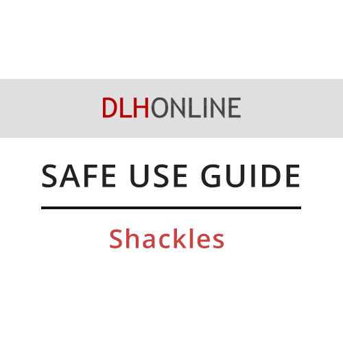 Safe use shackles
