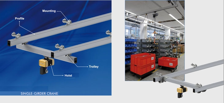 Eepos single girder cranes