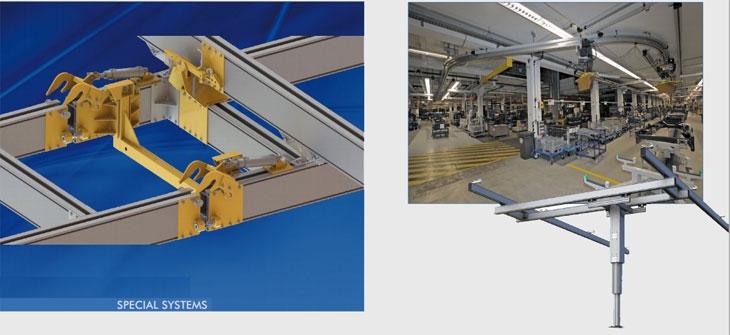 Eepos special crane systems