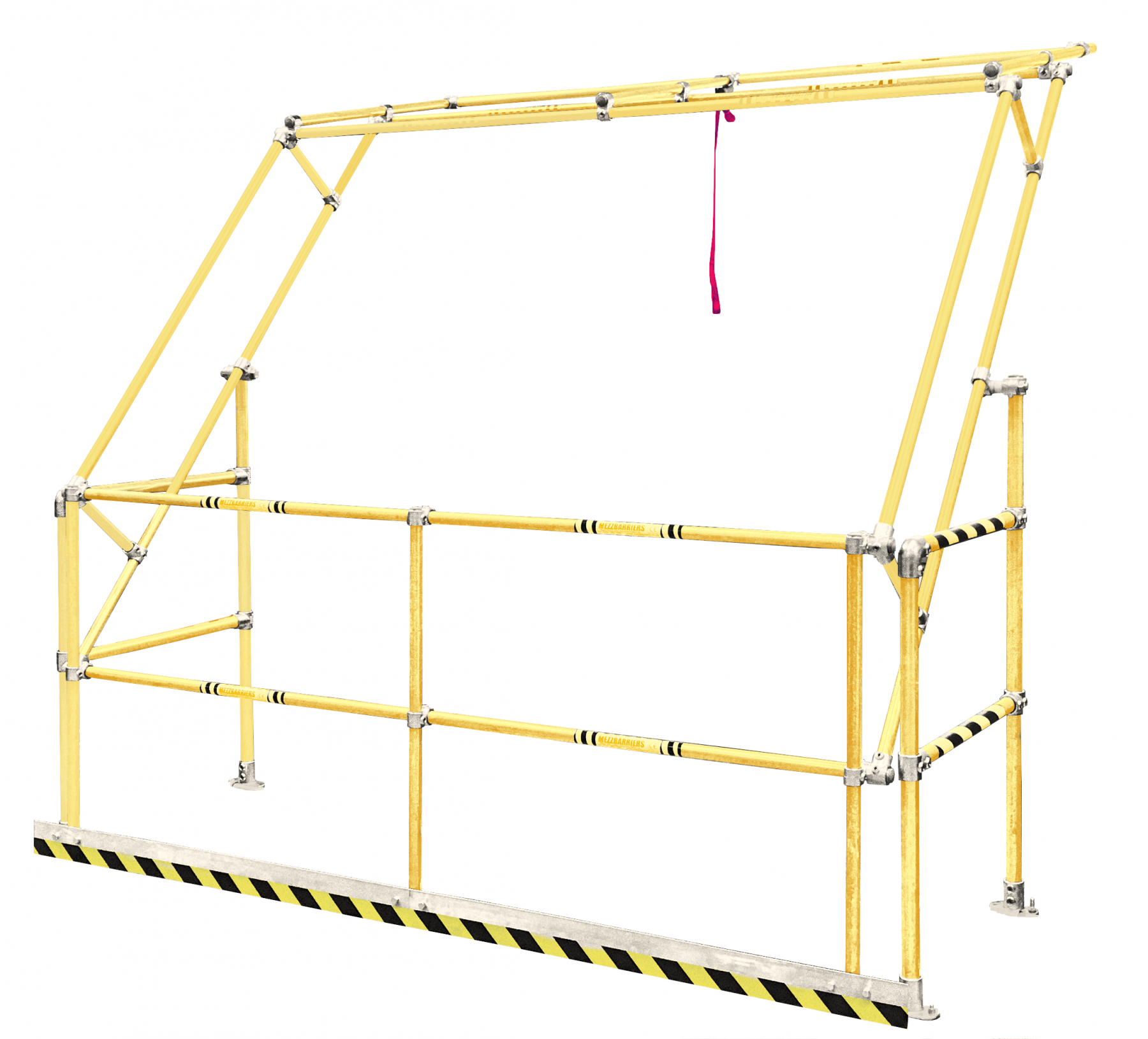 Gamma Pallet Gate - Safety Yellow