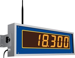 SW-SD Wireless slave display